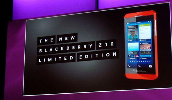 BlackBerry a punto de enviar su edición limitada del Z10 a los desarrolladores