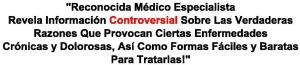 Información contreversial sobre causas enfermedades